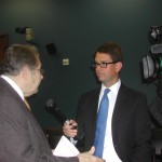 ASSET Founder Jack Fitzgerald with FOX News at the Small Business Hearing on Estate Tax