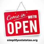 Come In..We're Open:  Estate Tax News on Capitol Hill