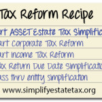 Estate Tax Proposals: Let's Get Cookin' on a Recipe for Estate Tax Reform in Tax Reform