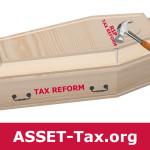 Who said a change in leadership is a nail in the coffin of tax reform?